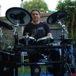 Ugo Vantini (Entropia) live @ Pool Kontact 2014 (photo  by Mara Nanni)
