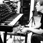 Alex Marenga (Entropia) in studio (photo by A.Yershova)