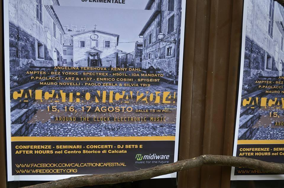 """Festival """"Calcatronica 2014"""""""