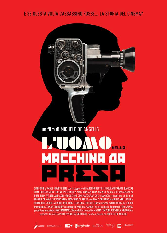 """The man in the movie camera"" music by Entropia, first public screening"