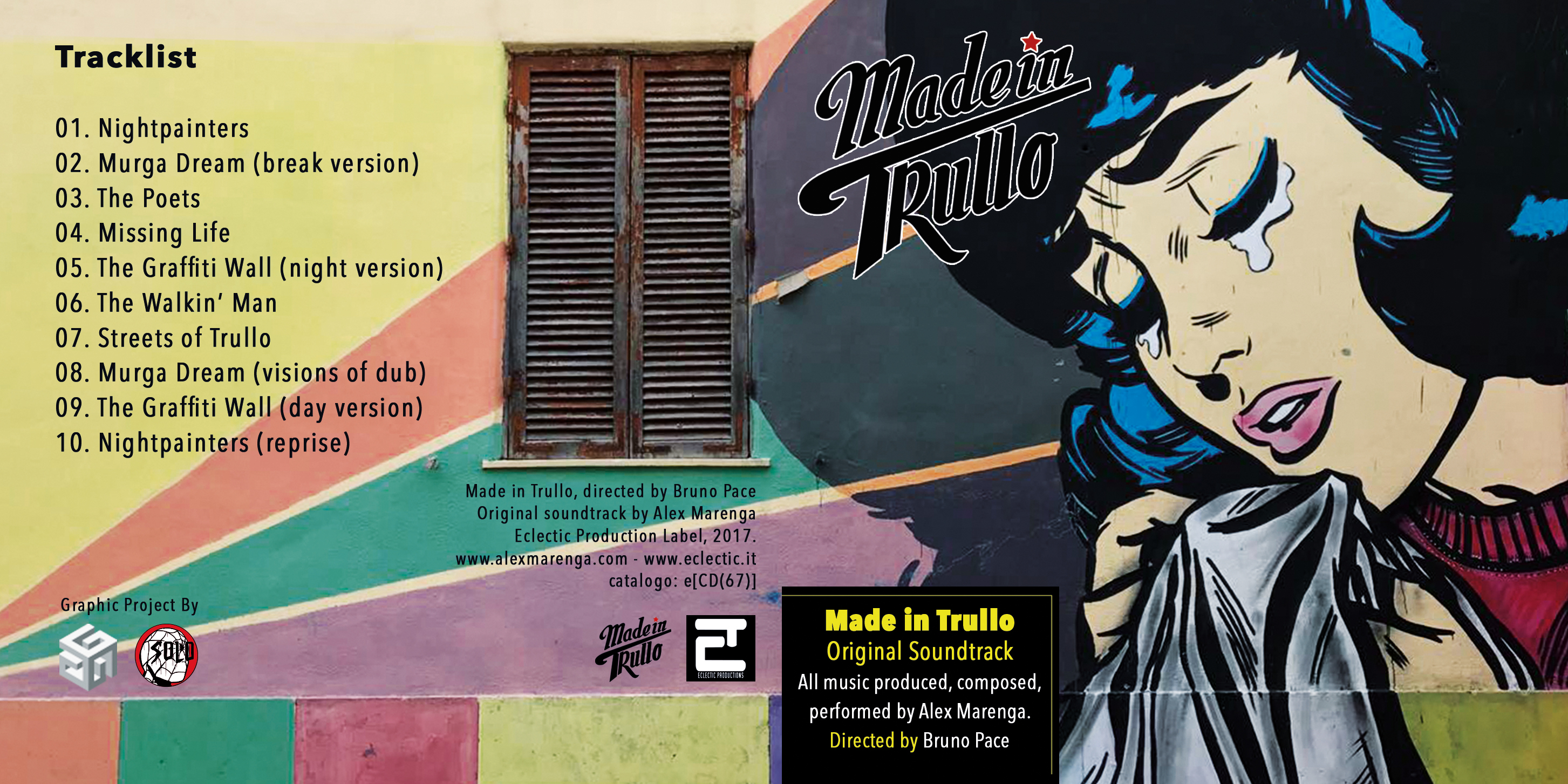 Made In Trullo OST by Alex Marenga out now!!