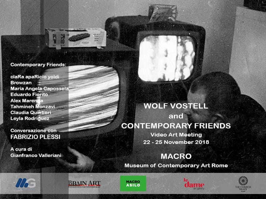 "Alex Marenga's new video and new track at Macro Musem for ""Wolf Vostell & Contemporary friends"""