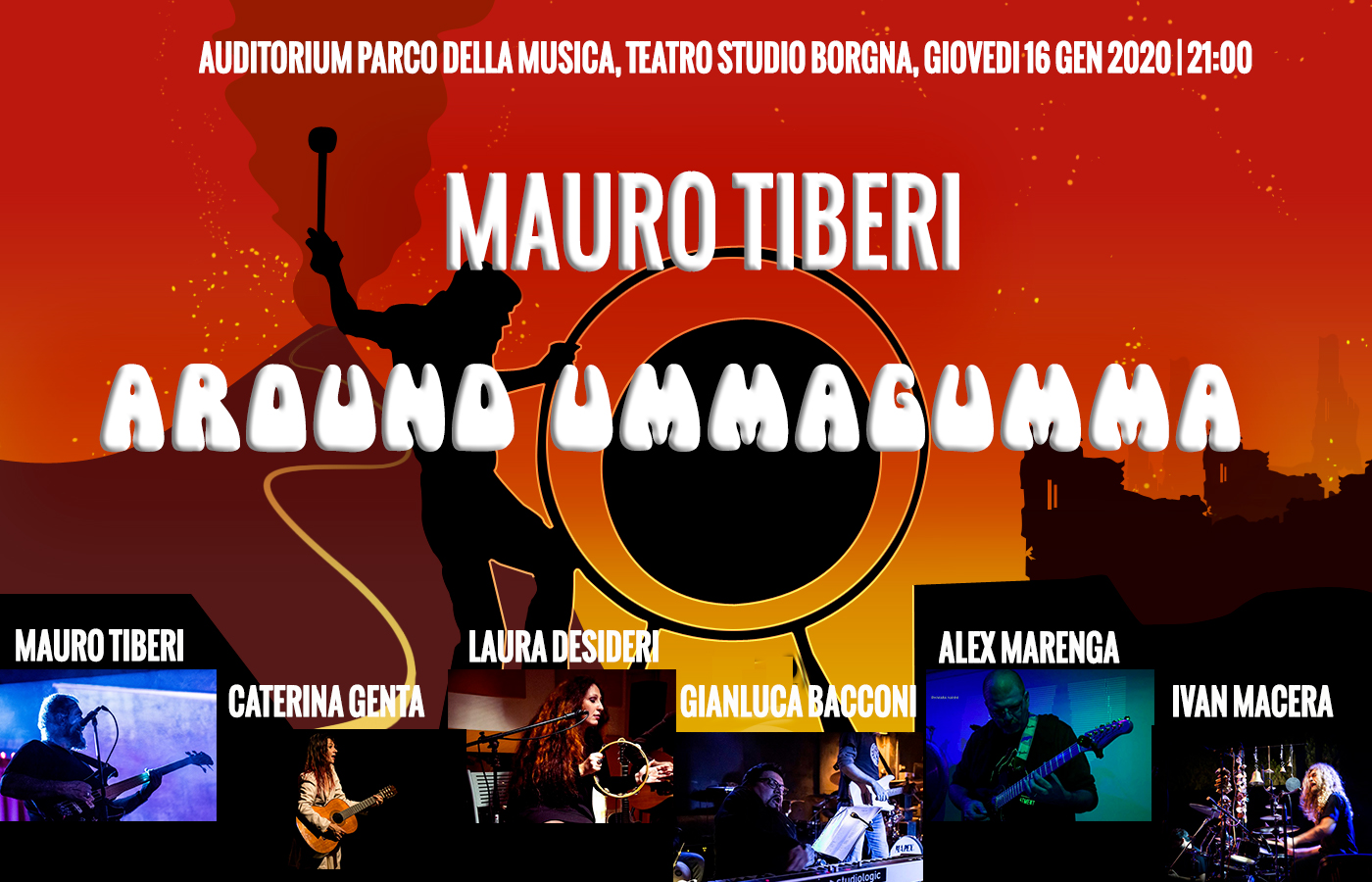 "Mauro Tiberi ""Around Ummagumma"""